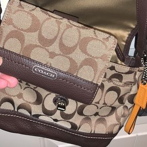 Coach Bags - Brown Coach Small Crossbody